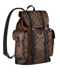 Discover Louis Vuitton Christopher PM  The Christopher PM conjures up the  rugged spirit of a hiking pack in Monogram canvas. It s equally chic at  work and ... f380e5e28d