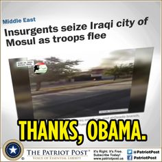 Humor: Mosul — The Patriot Post