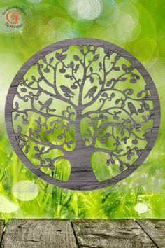 Lebensbaum Baum des Lebens aus Holz  Graviert  Laser Cut  Wanddeko Holzdekor  Wandbild Dekoration Deko Geschenk zum Geburtstag Hochzeit  Muttertag Weihnachten