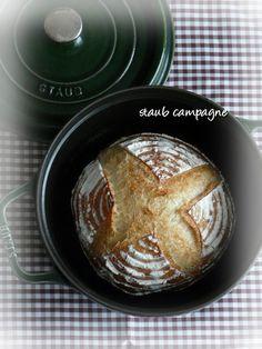 *arte 手ごねパン教室:ストウブで♪カンパーニュ〜さよならオーブン(;_;)