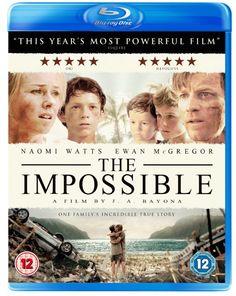 The Impossible [Blu-ray] [2013]: Amazon.co.uk: Naomi Watts, Ewan McGregor, Tom Holland, Juan Antonio Bayona: DVD & Blu-ray