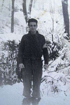 Battle of the Bulge medic Don Rinella  ~  The Battle of the Bulge, fought over the winter months of 1944 – 1945,