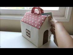 DIY Sewing a lovely Dollhouse - YouTube