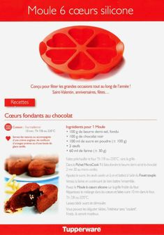 Moule 6 Coeurs Silicone