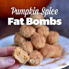 Pumpkin Spice Keto Fat Bomb Recipe