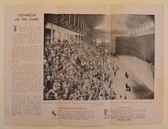 c1934 VINTAGE FRONTON JAI ALAI CUBAN FAST BALL PROGRAM Havana CUBA Concordia St. | eBay