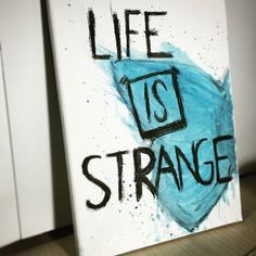 'We played hide & seek in waterfalls, we were younger' Obstacles - Syd Matters #LifeIsStrange #fanart #gaming