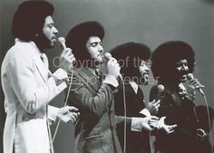 The Chi-Lites Vocalists Formed in Chicago in the late 1950s