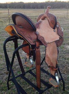 Vernon Purdy saddle