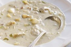 This authentic-tasting New England clam chowder has a fraction of the carbohydrate in the regular kind. This chowder is a true low-carb comfort food.