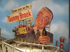 Billboard «Come over on the Sunny Brook side!»