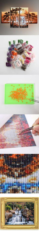 2 x 5D DIY Cat London Paris Diamond Painting Embroidery DIY Needlework Craft