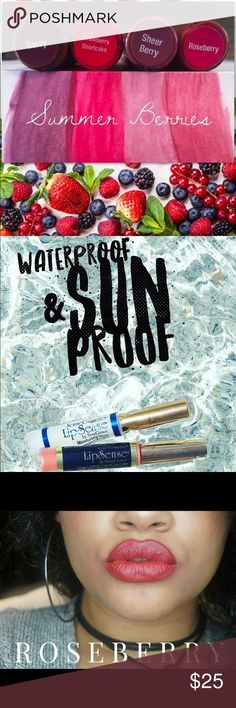 LipSense Long lasting lip color!  Wax free💋waterproof💋smudge proof💋Stays on your lips & not on what you KISS💋 Senegence LipSense Makeup Lipstick