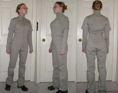 Female flight Suit - Link to her pattern and Mando Mercs info.