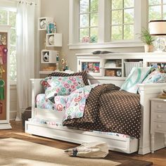 "Display it daybed with trundle, for when Emmy has a ""big girl"" room?"