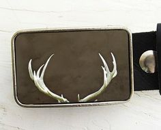 Antler belt buckle Unexpected Gifts For a Guy