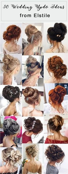30 Elstile Long Wedding Hairstyles and Updos Elstile Lange Hochzeitsfrisuren und Updos Braids For Short Hair, Wedding Hairstyles For Long Hair, Wedding Hair And Makeup, Hairstyles With Bangs, Bridal Hairstyles, Hot Haircuts, Hair Wedding, Pretty Hairstyles, Easy Hairstyles