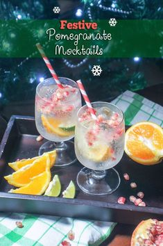 This festive, fun pomegranate mocktail is low sugar, looks beautiful, and will keep you hydrated throughout holiday parties! Low Calorie Cocktails, Low Calorie Recipes, Food For A Crowd, Low Sugar, Healthy Drinks, Pomegranate, Holiday Parties, Punch Bowls, Healthy Living