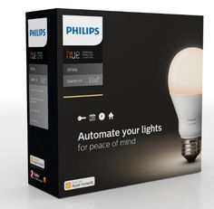 Philips Hue White Personal Wireless Lighting LED Starter Kit, 2 x 9.5 W E27 Hue…