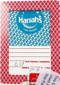 Cartas originales Harrahs Las Vegas - PokerProductos.com Las Vegas, Deck, Exhibitions, Letters, Index Cards, Store, Last Vegas, Decks, Decoration