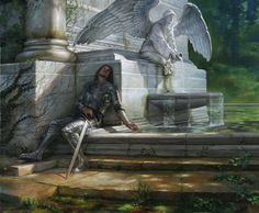 The Reluctant Knight by Donato Giancola