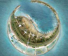 10 projets extraordinaires pour aménager une île artificielle en Chine