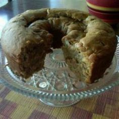 So good.. like a french breakfast muffin with pear... oh and I axed the nuts ...Fresh Pear Cake