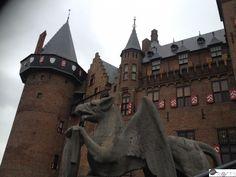 Kasteel de Haar, Nederland.  Medieval palace www.heyroets.co.za Palace, Medieval, Louvre, Adventure, Building, Blog, Travel, Viajes, Buildings
