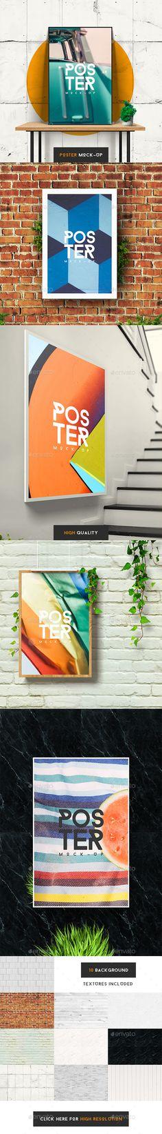 Creative Poster Mockup - Posters Print