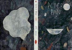 'peter pan' book cover design by Katie Harnett