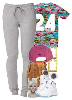 """Untitled #1348"" by power-beauty ❤ liked on Polyvore featuring Forever 21, Polo Ralph Lauren, MCM and Chanel"