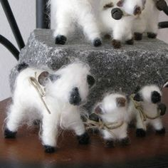 LizzyLou's Lamb Family by lizzylous on Etsy, $6.00