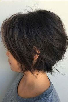 14 Adorable Short Layered Haircuts for the Summer Fun Short layered haircuts are totally in at the moment. With summer just months away, you might be thinking of trading in your longer locks for a simpler style to survive those torrid summer months. glaminati.com/...