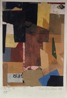 Kurt Schwitters. Collage