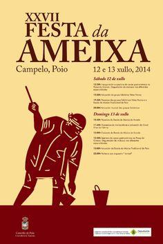 #Fiesta de la #almeja, #Campelo, #Galicia
