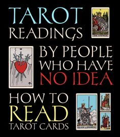 7 Tarot Readings by People Who Have No Idea How to Read Tarot Cards | In My Sacred Space