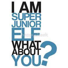 I am Super Junior Elf iPhone Cases luv it Super Junior