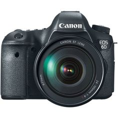 Canon EOS 6D 20.2 MP CMOS Digital SLR Camera with 3.0-Inch LCD and EF24-105mm IS Lens Kit by Canon