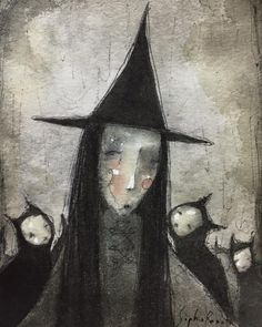 Cute Clown, Creepy Cute, Dark Fantasy Art, Dark Art, Cats Musical, Rock Painting Designs, Painting Wallpaper, Cat Colors, Gothic Art