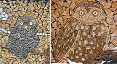 You could also use this time to get creative with your woodpiles before they're depleted by the cold, harsh winter. Here are some pretty breathtaking examples of woodpile art to inspire you.