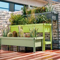 Urban Garden Design Fermob Terrazza Planter - Large — France