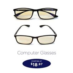 5e1b559b12c1 SightPros Computer Glasses- blublocker reading glass for men and women-  reduces eye stain and