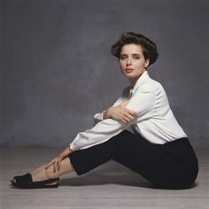 Isabella Rossellini by Terry O´Neill