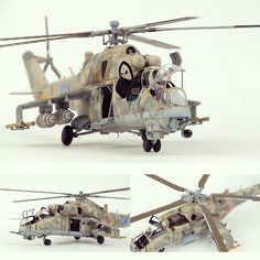 Mi-24 HIND 1/32 Trumpeter. Modeler Hong Hwan Jang Mi 24 Hind, Russian Military Aircraft, Military Helicopter, Scale Models, Military Modelling, Military Diorama, Model Airplanes, Model Building, Plastic Models