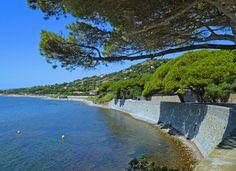 Corniche de Sainte-Maxime vers la Nartelle
