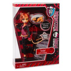 Amazon.com: Monster High Toralei Stripe Doll with Pet Sweet Fang: Toys & Games