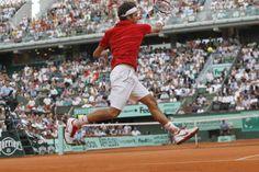 Federer flying to the Roland Garros final