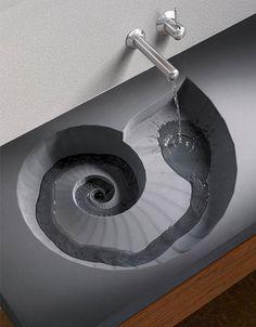 Sea Shell Sink