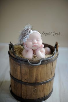 Baby flower headband vintage inspired..Baby by FancyCarrieBoutique, $19.95