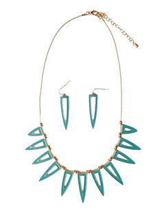 The Brooke Necklace & Earrings Set